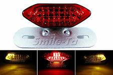 Motorcycle LED Stop Tail Light w/ Turn Signals Triump Streetfighter Cafe Racer