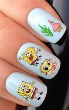 NAIL ART WATER TRANSFERS DECALS STICKERS BABY SPONGEBOB PATRICK STAR #500