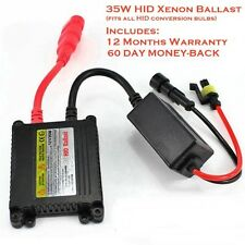 Replacement Universal HID Xenon Conversion Slim Digital Ballast 35W for All Bulb