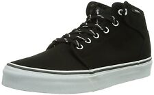 VANS SHOES 106 MID SPORT LACE BLACK MAGNET SZ Mens 8 SKATE SK8 VEGAN nib NEW