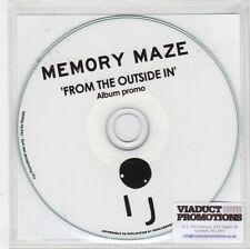 (GN347) Memory Maze, From The Outside In - 2015 DJ CD