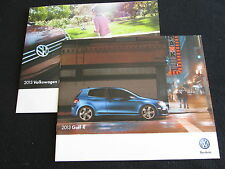 2013 VW Golf R Brochure 4Motion GTI & Volkswagen Sales Catalog Set