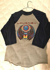 Journey Escape Tour Jersey Shirt Original 1981 Vintage T-shirt 80s