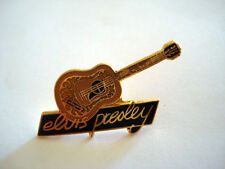 PINS RARE THE KING ELVIS PRESLEY GUITARE