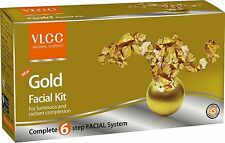 Gold Facial Kit by VLCC – 6 Steps Do it Yourself Facial