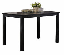 Kings Brand Furniture Black Finish Wood Dining Room - Kitchen Table ~New~