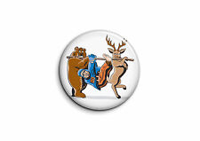 Animaux - Vengeance 1 - Badge 25mm Button Pin