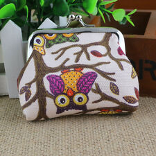 VogueWomen Lovely Style Lady Small Wallet Hasp Owl Purse Clutch Mini Bag