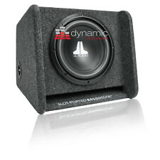 "JL AUDIO CP110-W0v3 Sub 10"" Box 10W0v3 Loaded Ported Enclosure w/ Gray Carpet"