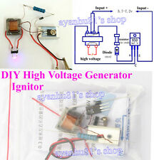 DC High voltage HV Generator Inverter Electric Ignitor DIY Kit for 18650 Battery