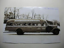 "USA1111 - 1940 8½"" x 5½"" GREAT EASTERN BUS SYSTEM Inc - NEW JERSEY Photo USA"