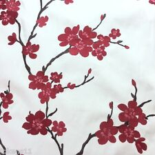 Multipurpose Floral Embroidery Fabric HANGZHOU /SCARLET By the Yard