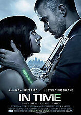 In Time (DVD, 2012)  Brand new and sealed