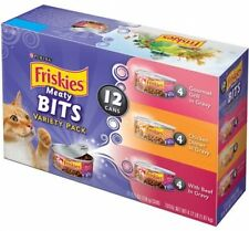 Purina Friskies Meaty Bits Cat Food Variety Pack 12-5.5 Oz. Cans