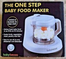BABY BREZZA One Step Homemade Baby Food Maker BPA FREE White Used