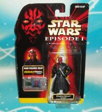 STAR WARS EPISODE 1 EP1 SERIES DARTH MAUL JEDI DUEL 2 BLADED LIGHT SABER FIGURE