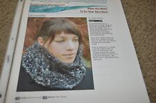 knittyspin diversify neck warmer  Knitting Pattern