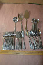61 Pc Set OXFORD HALL Sagamore Westbury Jamestown FLATWARE Stainless #1783
