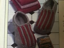 "Crochet Pattern ""Men's Slippers and Socks"" Pattern Only. CP078"