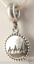 3 KINGS Genuine PANDORA Silver CHRISTMAS Quest of the Magi NATIVITY Dangle Charm