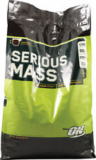 OPTIMUM NUTRITION SERIOUS MASS! Vanilla 12 lbs
