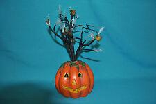 Fiber Optic Color Changing Halloween Tree Jack-O-Lantern Base Fall Leaves
