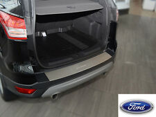Ford KUGA II 2013- Rear Bumper Profiled Protector Stainless Steel Scuff Cover
