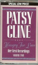 PATSY CLINE - HUNGRY FOR LOVE: HER FIRST RECORDINGS, VOL.2 - CASSETTE - NEW