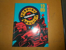 1989 Yamaha Motorcycle Accessories Apperel and Parts Catalog LIT-1007-02-89