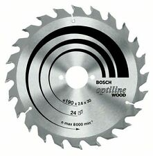Bosch Optiline Wood Circular Saw Blade 160x20x36 2608640597