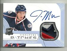 2011-12 Upper Deck The Cup Signature Patches Autograph JOHN MOORE  # 3 of 75