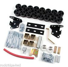 "Zone Offroad 2"" Body Lift Kit for 97-03 Ford F150 Truck 2WD 4WD 4x4 F9385 New"