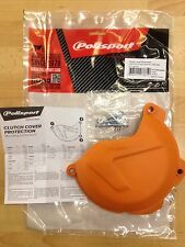KTM  SXF  250  350  2013-2015 CLUTCH COVER PROTECTOR GUARD ORANGE