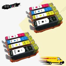 2 SET 655 ink cartridges For HP 655 Deskjet 3525 4615 4625 5525 6525 with chips
