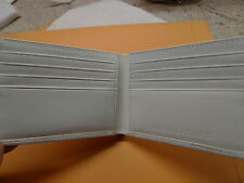 MARC JACOBS MEN'S WHITE PATENT  WALLET 100%AUTHENTIC