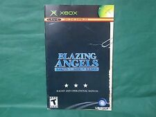 Blazing Angels Squadrons of WWII Manual (Xbox) *MANUAL ONLY*