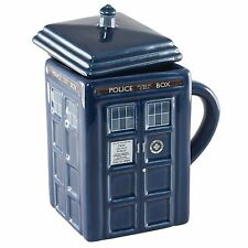 Dr.Who Doctor Who Tardis 3D Mug Mugs Police Box Coffee Cup Figure Toy