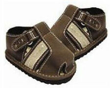 FREE POST! GOLDBUG BABY BOYS SHOES PRE-WALKERS CAGE BROWN SANDALS 3-6 MOS