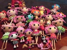Lalaloopsy Lot of 18 Full Size Dolls + 2 Minis 3 Pets Stroller Rocking Horse