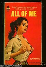 All of Me by Amy Harris Midwood F265 1963 Sleaze/GGA/Fiction