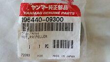 Yanmar Genuine Parts -Nut, Propeller - 196440-09300