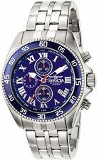 Invicta Men's Specialty Quartz Chronograph Blue Dial Watch 5723