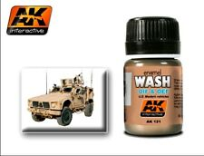 AK Interactive  OIF & OEF US Modern Vehicles enamel wash # AKI121