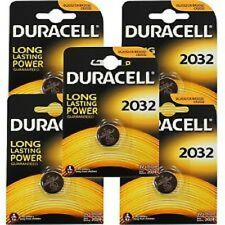 5 x PILE BATTERIE DURACELL CR2032 3V LITIO Lithium Coin Cell Battery 2032