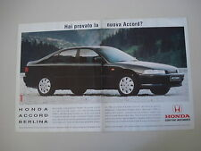 advertising Pubblicità 1994 HONDA ACCORD BERLINA