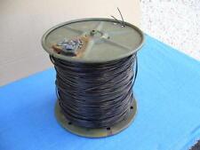 Doppino telefonico militare 2x1 mm. antistrappo bobina metallica m.450