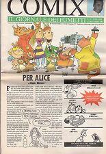 riviste fumetti- COMIX IL GIORNALE DEI FUMETTI Anno 1992 Numero 41