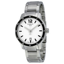 Tissot Quickster Silver Dial Stainless Steel Mens Watch T0954101103700