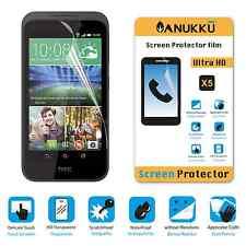 3x PELLICOLA per HTC Desire 320 FRONTE + PANNO PROTETTIVA DISPLAY