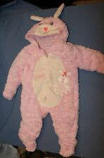 Sweet Bunny Pink Plush 9 Mos Babies R Us Snowsuit Outfit Soft Baby Easter